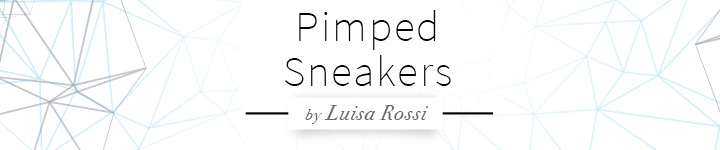 Metallic Sneaker by Luisa Rossi